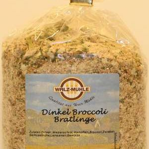 Dinkel-Broccoli Bratlinge-0